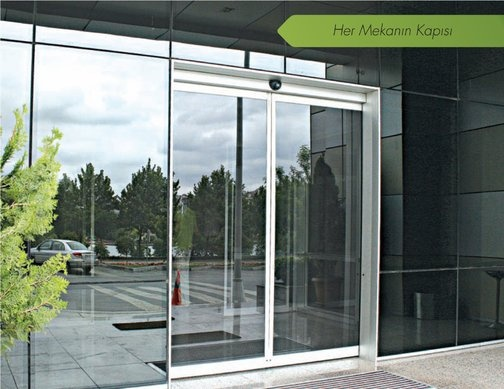 Automatic Linear Sliding Doors Albert Genau Glass Balcony
