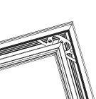 cam balkon açılı birleşim Statü Optima Cam Balkon Sistemi